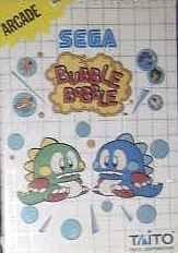 Bubble Bobble [Sega Master System] [Importado de Francia]
