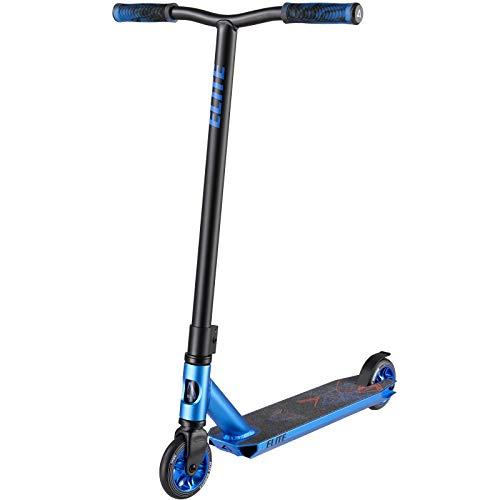 Albott Patinete Scooter Freestyle Patinete de Acrobacia Patinete de Trucos y Saltos con HIC Compresin Aluminio Ligero Cubierta Y Slido Core Ruedas Rodamientos ABEC-9