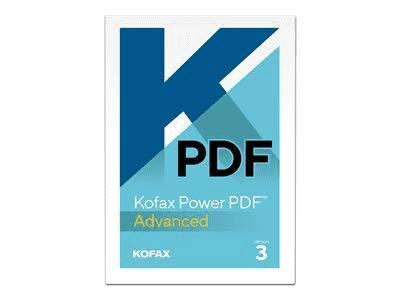 nuance software utilities KOFAX Power PDF Advanced 3.0