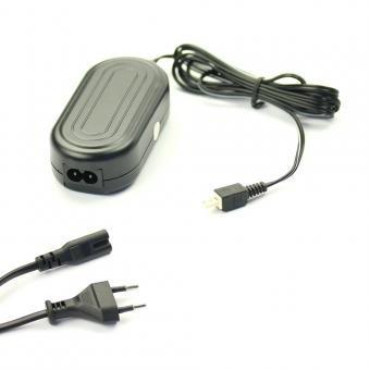 subtel® Qualitäts Netzteil kompatibel mit JVC GZ-GX1, GZ-HM300 -HM335 -HM960 -HM550, GZ-HD510, GZ-VX715 -VX815, GZ-MS110 - ca. 3m, Ladegerät AP-V30, 5.2V Stromadapter AC Adapter Netzadapter Ladekabel