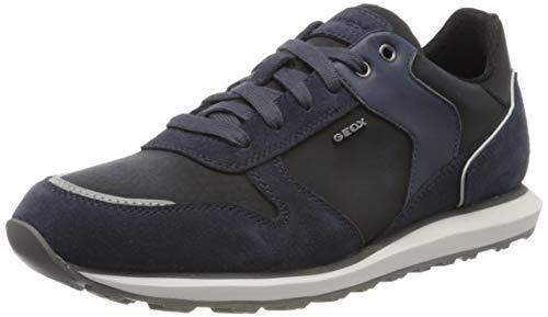 Geox Herren U VOLTO A Sneaker, Blau (Avio C4005), 42 EU