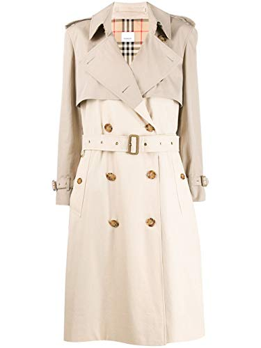 BURBERRY Luxury Fashion Femme 8022636 Beige Trench Coat |
