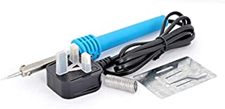 Soldering Iron With 8 gm Solder Wire, Iron Stand & Japnese Long Life Tip TSI 20-13A