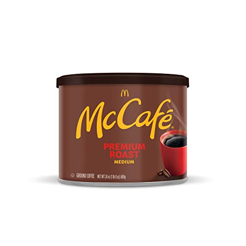 McCafe Premium Medium Roast Ground Coffee (24 oz Canister)  $5.69 at Amazon