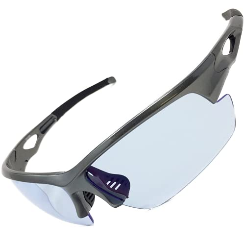 ネオコントラスト サングラス (非 調光 ) スポーツサングラス ナイト ドライブ サイクリング バイク 白内障 予防 ZST001