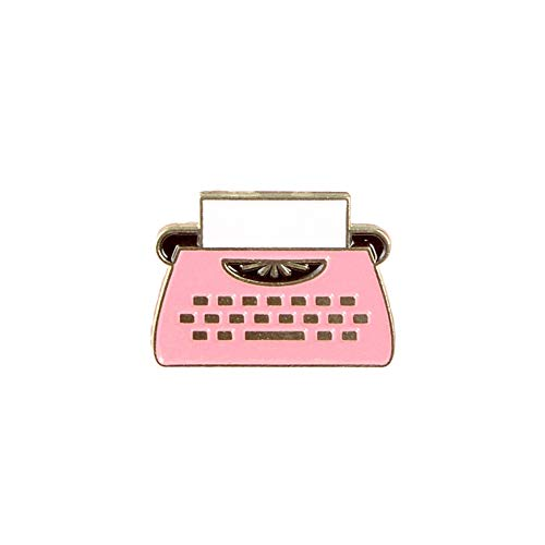 GAOX *European And American Fashion Trend Communication Series Badges Cartoon Retro Fax Machine Dripping Brooch Clothing Accessories(Size:2)