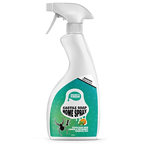 PRESSED TO FRESH - Castile Soap Home Spray for Pest Control - Fly, Ant,...