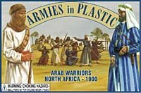 North Africa 1900 Arab Warriors (20) 1/32 Armies in Plastic