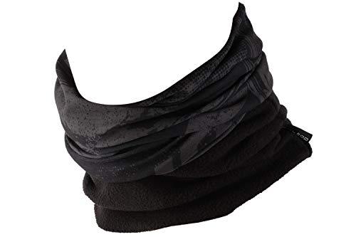 Hilltop Polar Halstuch, Multifunktionstuch, Kopftuch, Schlauchschal, Schal mit Fleece, Cooles Design in Trendfarben, für Damen und Herren, Farbe:Light Grey Art