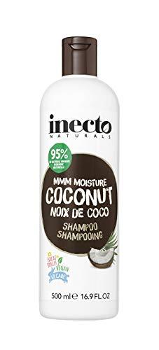 Inecto Naturals Feuchtigkeitsspendende Shampoo, 500ml, Kokos, 6Stück