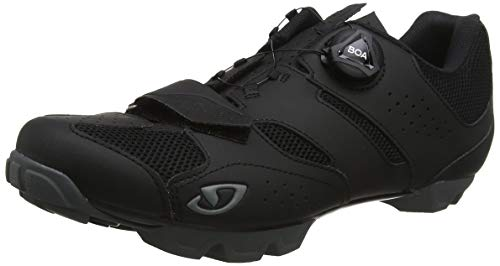 Giro Cylinder Mens Mountain Cycling Shoe − 46, Black (2020)