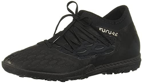 PUMA Men's Future 5.3 Netfit Turf Trainer Soccer-Shoe, Black-Asphalt, 11.5 M US