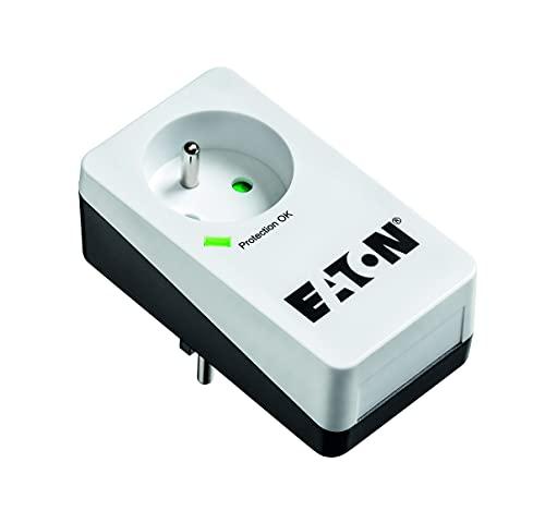 Eaton Multiprise/Parafoudre - Eaton Protection Box 1 FR - PB1F - 1 prise FR - Blanc & Noir