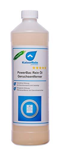 KaiserRein PowerBac Rein Ölfleckentferner auf Pflaster, Beton Asphalt Öl und vieles mehr I Öl, Heizöl Geruchsentferner I Pflasterstein Reiniger