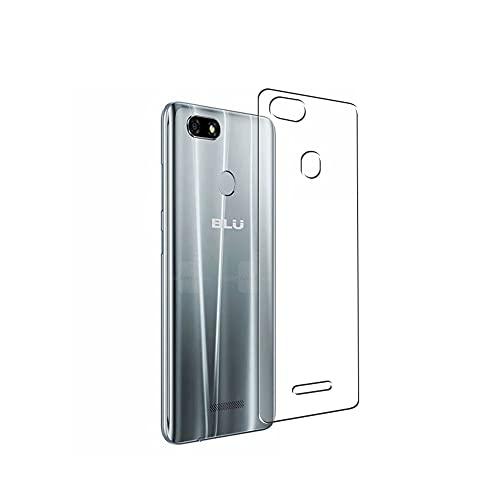 Vaxson 2 Stück Rückseite Schutzfolie, kompatibel mit BLU Vivo XL3 / XL 3, Backcover Skin TPU Folie [nicht Panzerglas/nicht Front Bildschirmschutzfolie]