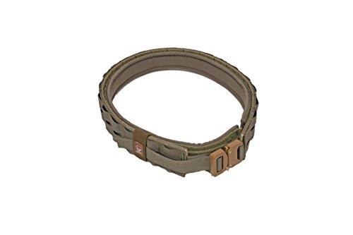 Grey Ghost Gear UGF Battle Belt with Padded Inner, Ranger Green, Medium (7012-6)