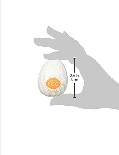 LUGEUK EGG-004 Twister Tenga Easy Beat Egg for Hombre, Dispositivo de Placer Masculino portátil