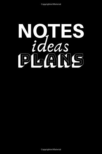 Notes Ideas Plans: Bullet Journal (6x9 inch | dotted grid paper | Soft Cover | 100 Pages)