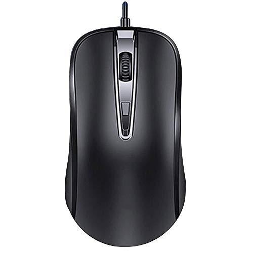 CHANGJ Kabelgebundene Gaming-Maus - Eine Kabelgebundene USB-Maus Für Computer Und Laptops In Der Künstlichen Physik, Die Von Windows-PC-Spielern Mit Bis Zu 1600 DPI Verwendet Wird
