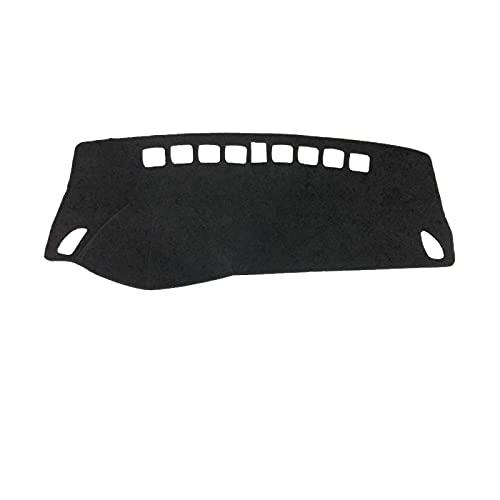 Pangtyus Armaturenbrettabdeckung Schutzpolster, für Opel Mokka/Mokka X 2013-2019, Auto Armaturenbrett Sonnenschutz Teppich Dashmat Mat.-Nr.
