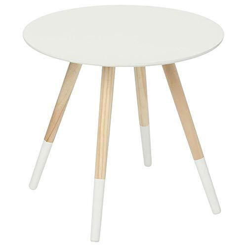 Table basse design moderne - Idéale pour toute pièce de la maison - Coloris BLANC