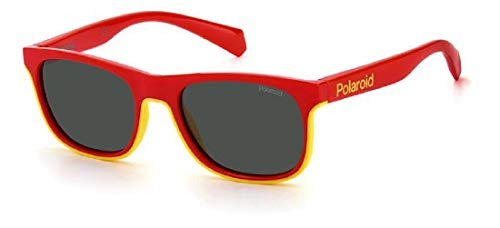 Polaroid Gafas de sol PLD 8041 AHY M9 rojo amarillo lentes polarizadas niños unisex