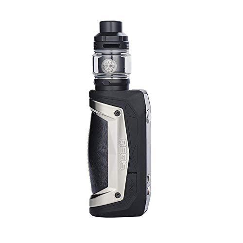 Geekvape Aegis Max 100W Kit with Zeus Tank Power by One 21700/18650 Battery,No e Liquid,No Nicotine (White Storm)