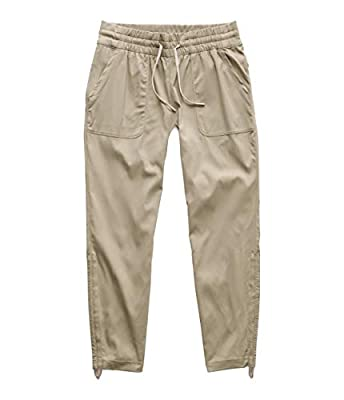 The North Face Women's Aphrodite Motion Pant 2.0, Dune Beige, Large