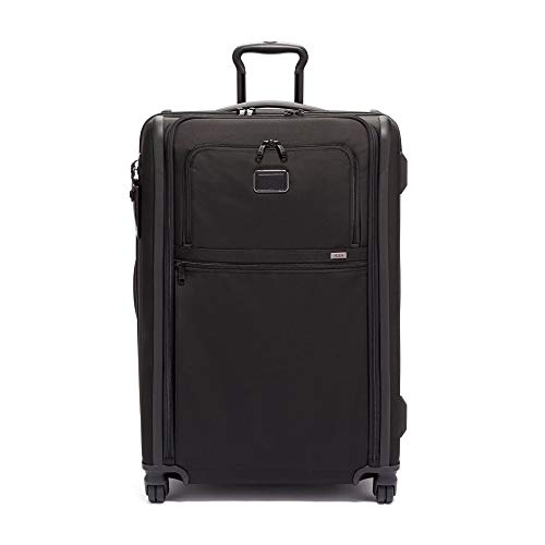 TUMI - Alpha 3 Medium Trip Expandable 4 Wheeled Packing Case Suitcase - Rolling Luggage for Men and Women - Black
