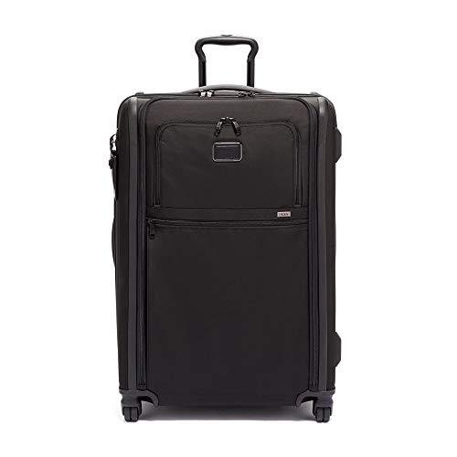 TUMI - Alpha 3 Medium Trip Erweiterbarer 4 Rollen Packkoffer - Rollgepäck für Damen und Herren - Schwarz