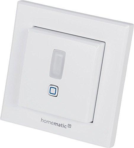 Homematic IP Smart Home Bewegungsmelder im 55er-Rahmen – innen, intelligente Bewegungserkennung im smarten Zuhause, 151769A0