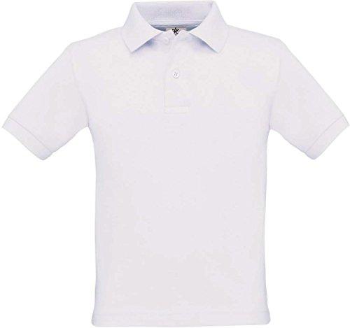 Poloshirt 'Safran Kids', Farbe:White;Größe:122-128 (7-8) 122-128 (7-8),White