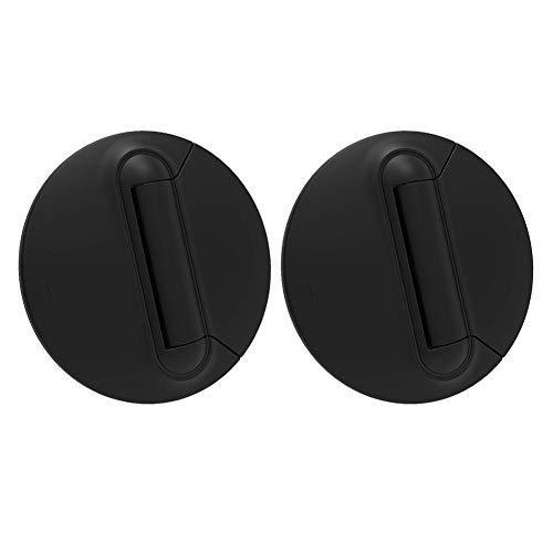 SANGSHI Mini soporte para portátil, 1 par de soportes para ordenador portátil, disipación de calor portátil, almohadilla de refrigeración