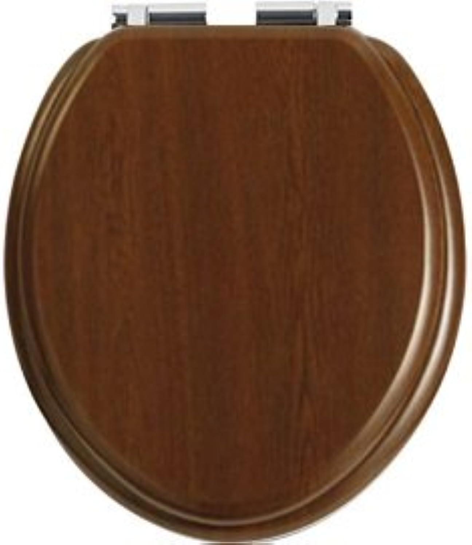Heritage Walnut Soft Close Toilet Seat - GW101SA