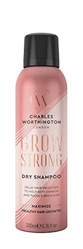 Charles Worthington Grow Strong Dry Shampoo, Dry Shampoo Spray, Protecting...