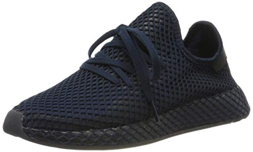 adidas Deerupt Runner, Zapatillas de Gimnasia Hombre, Azul (Collegiate Navy/Collegiate Navy/Core Black Collegiate Navy/Collegiate Navy/Core Black), 37 1/3 EU