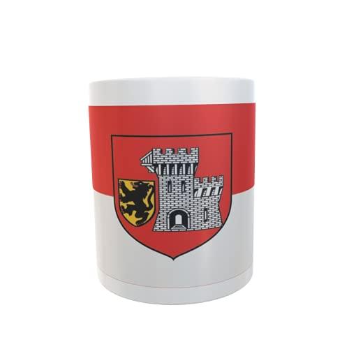 U24 Tasse Kaffeebecher Mug Cup Flagge Grevenbroich