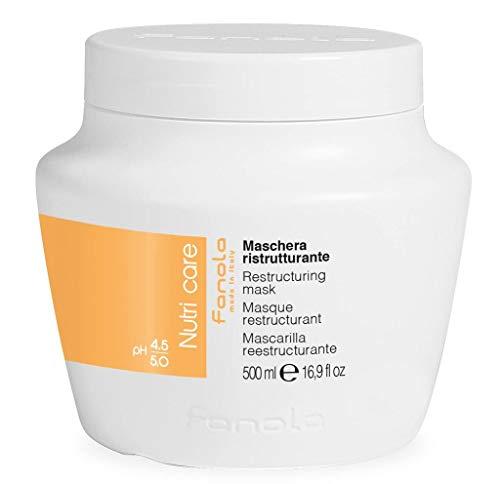 Fanola Nutri Care- Mascarilla reestructurante,500ml