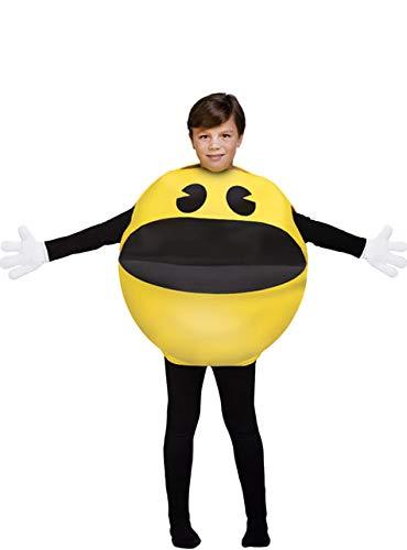 Funidelia Pac-Man Kostüm für Kinder