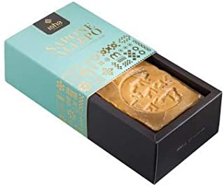 ISHA - Aleppo Soap 16% laurel oil - cleansing action for face, body and hair - for problematic skin - 100% artisanal - 200 g