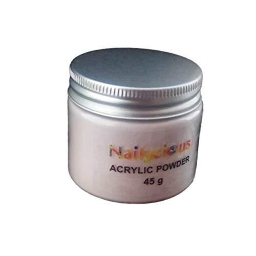 Poudre acrylique ultra-transparente pour usage professionnel Rose naturel 45 g