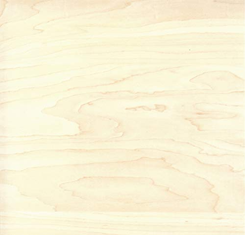 Klebefolie AHORN Dekofolie Möbelfolie Tapeten selbstklebende Folie, PVC, Natur-Holzoptik beige, 45cm x 3m, Stärke: 0,095 mm, Venilia 53146