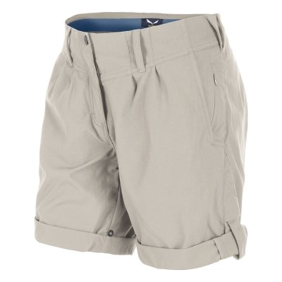 SALEWA - FANES PORDOI Dry W Shorts Pantaloncini - M - Marrone - Donna