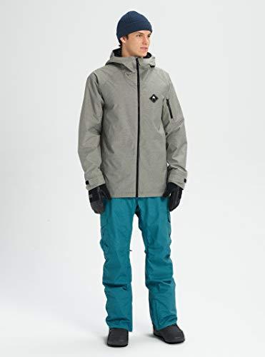 Burton Mens Hilltop Jacket, Shade Heather New, Medium