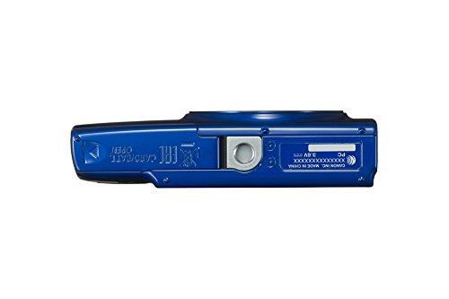 Canon IXUS 190 Digitalkamera (20 MP, 10x optischer Zoom, 6,8cm (2,7 Zoll) LCD Display, WLAN, NFC, HD Movies) blau