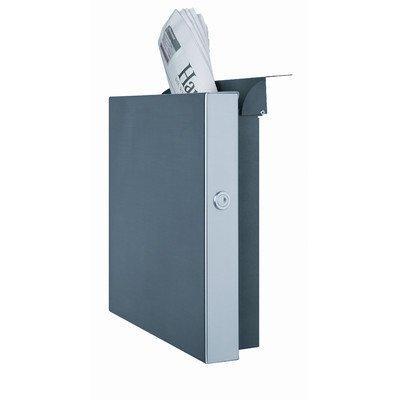 Serafini Briefkasten Square verkehrsweiß quadratisch 36 x 36 x 10 cm Postkasten Wandkasten
