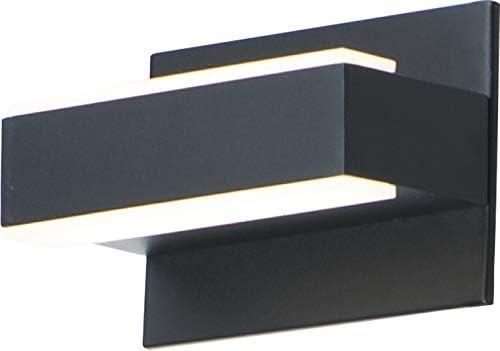 35% OFF ET2 E23210-90BK Omni Aluminum Acrylic V sold out Bath Sconce Wall Linear