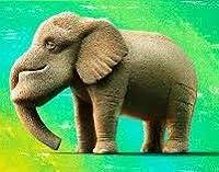 パンダの穴 シャクレルプラネット4 第4弾 「 シャクレルゾウ ( ゾウ 象 ) 」 単品