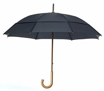 GustBuster Doorman 68  Umbrella  Black