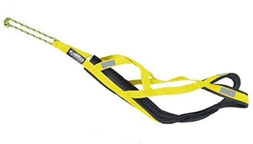 Neewa 8033087538908–Schlitten Geschirr Pro gelb Medium